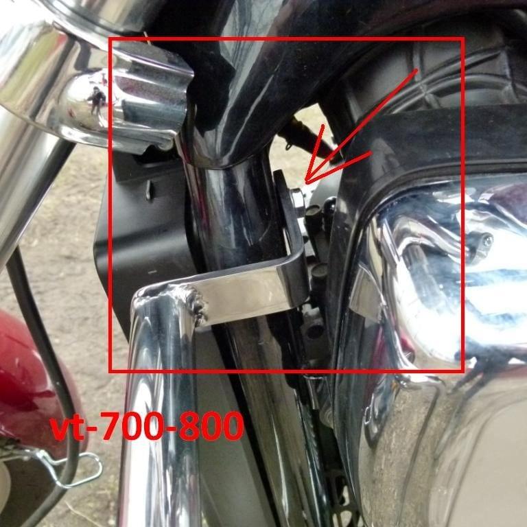 Honda Vermont 700 Specifications Ehow: Gmole Honda VT 700-800 Nierdzewka 30×2 Mm