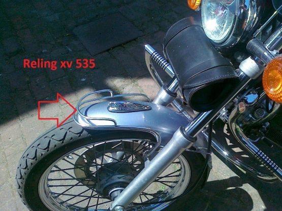 Reling przedniego i tylnego błotnika Virago xv 535