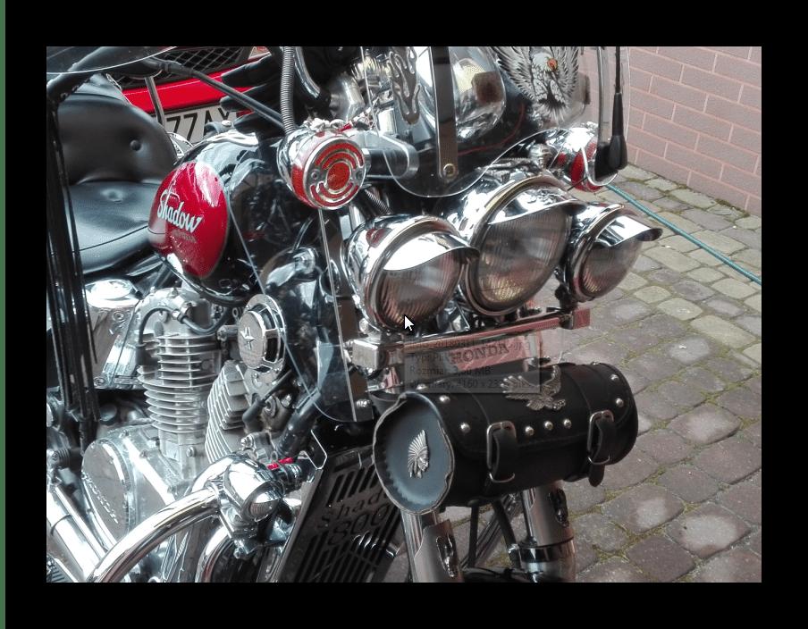 Owiewkj kolan Gmole Honda Shadow 800 V-Twin 750