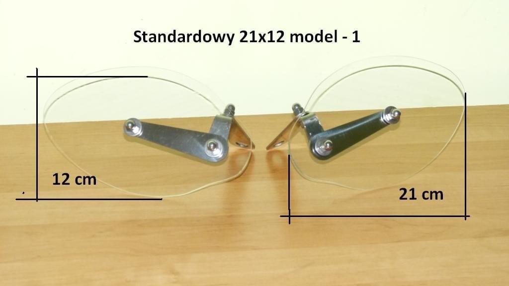 Deflektory na ręce uniwersalne xvs,xv 125-535-650,100,750