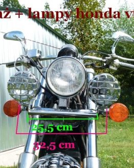 Stelaż lamp Honda VT -600 jnox