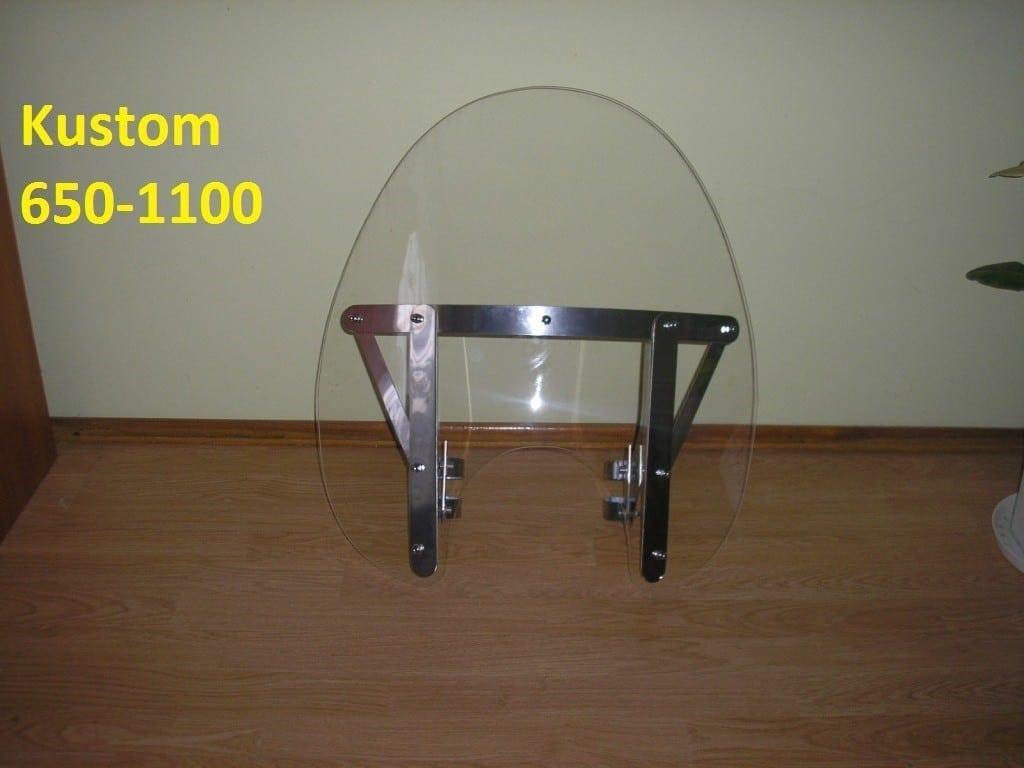 Szyba honda VT 1100 60x60 poliwęglan nietłukący .