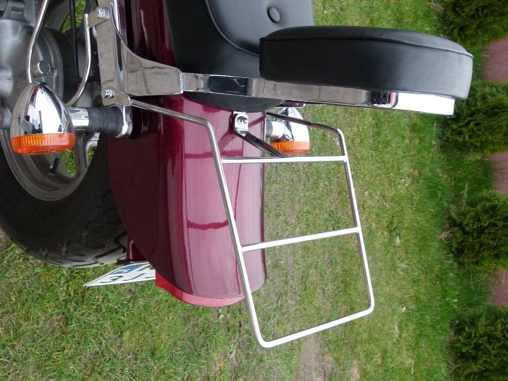 Honda VT 1100 stal nierdzewna bagażnik