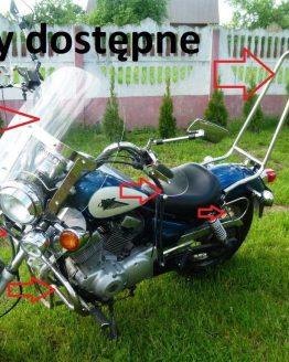 wysoki sisibar xv 125 250 Yamaha Virago