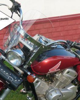 szyba Honda VT 125 Shadow 4 punkt 46x44 cm