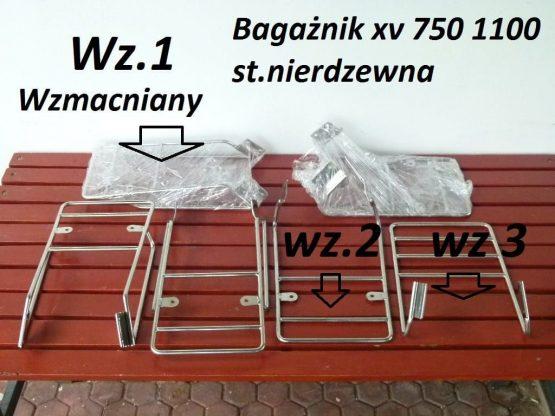 Bagażnik yamaha virago xv 750 xv 1100 podstawowy