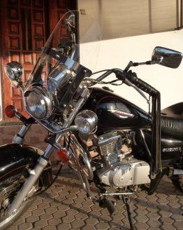 Suzuki GZ 125 Marauder stelaż lajkbar lampy