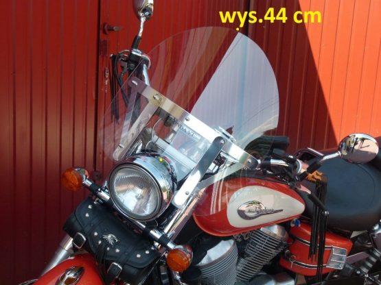 Szyba HONDA Shadow VT750 C2, C4 wymiar 53×51