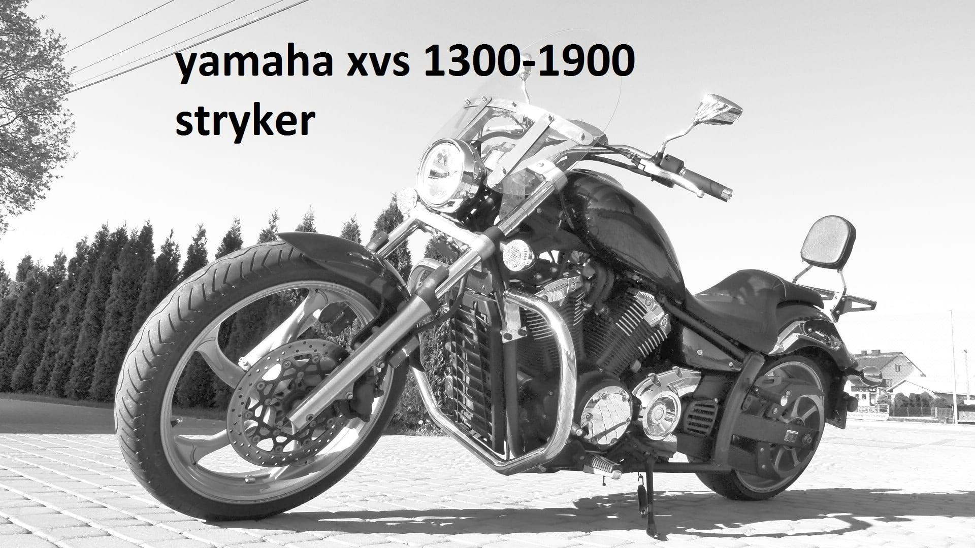 Szyba yamaha xvs 1300 stryker 1900