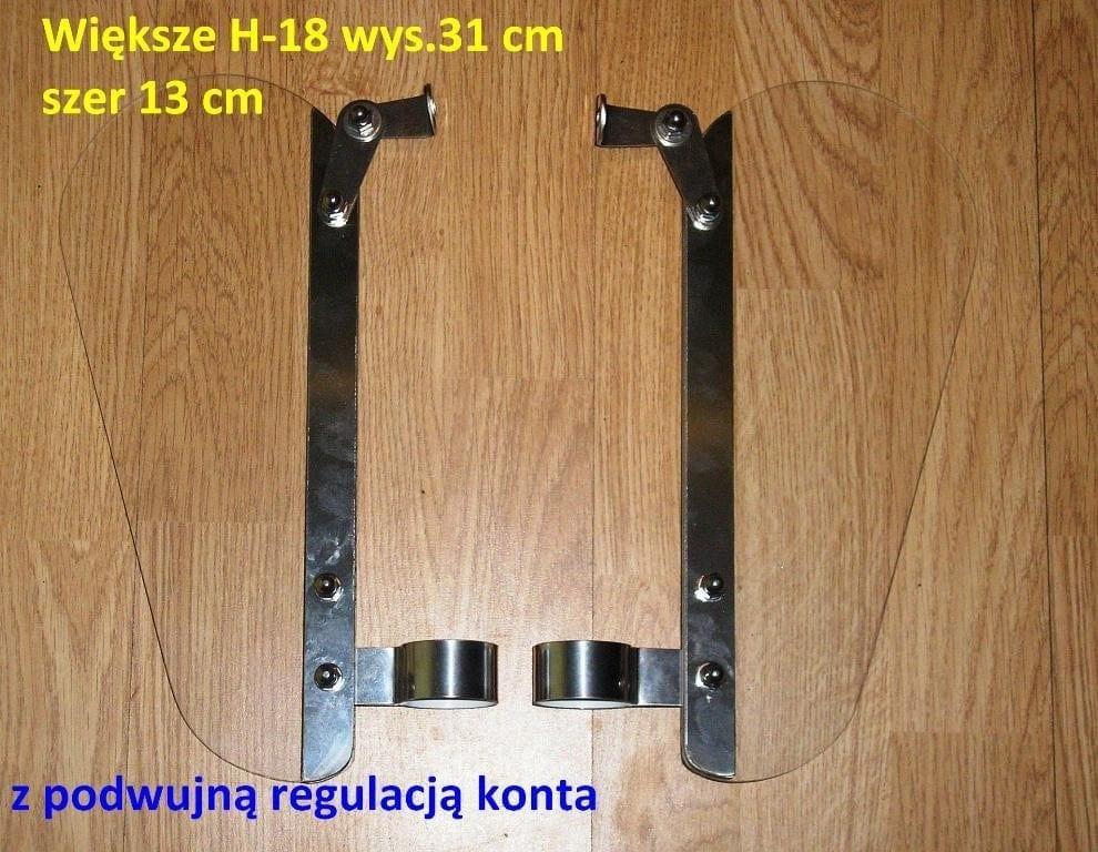 Owiewki kolan Yamaha virago xv 750 xv 1100 xv 535 x125 DEFLEKTORY